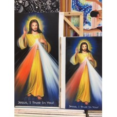 Divine Mercy Oil Painting
