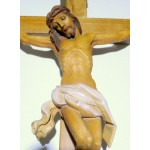 Crucifix - 40cm Teak Wood Figure Resin