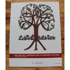 EIV - Virtue Tree Poster US$7.95