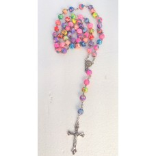 Rosary - 5D Colourful  7mm Polymer Beads