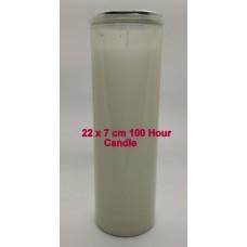 Candle - 100 hour Pillar Wax Plain