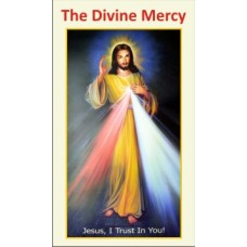 Card - Divine Mercy 10cm x 6cm - Digital Product